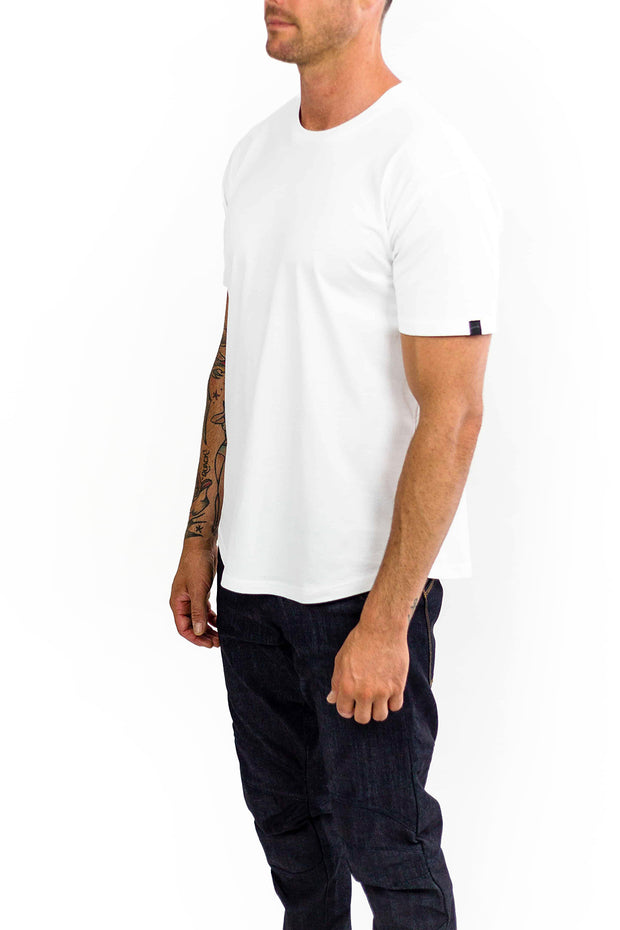 Buy the clutch moto rider tee white online at Moto Est. Australia 3