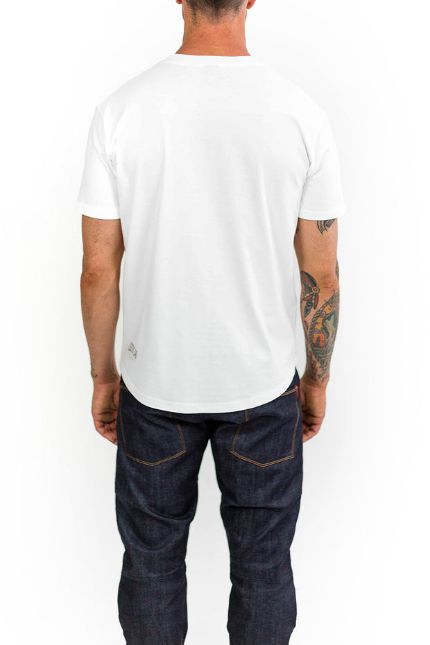 Buy the clutch moto rider tee white online at Moto Est. Australia