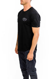 Buy the clutch moto club tee black online at Moto Est. Australia 3