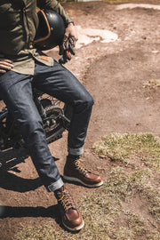 Clutch Moto Selvedge Motorcycle Jeans in Indigo online at Moto Est. Australia 7