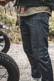 Clutch Moto Selvedge Motorcycle Jeans in Indigo online at Moto Est. Australia 8
