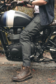 Clutch Moto Tech 110 Motorcycle Jeans in Black online at Moto Est. Australia 9