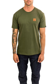 Clutch Moto Icon Tee in Army Green online at Moto Est. Australia