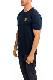 Buy the clutch moto icon tee navy online at Moto Est. Australia