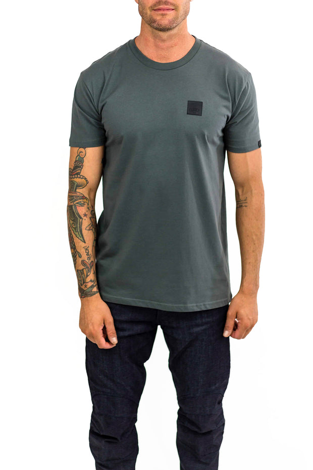 Clutch Moto Icon Tee in Asphalt online at Moto Est. Australia