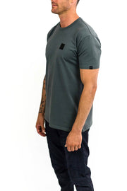 Buy the clutch moto icon tee asphalt online at Moto Est. Australia