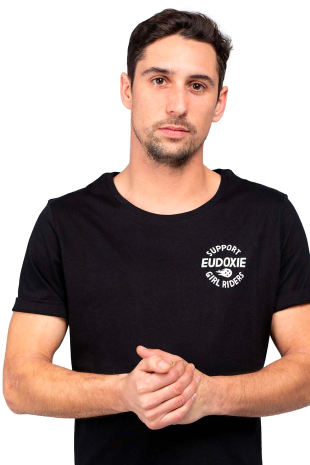 buy the Eudoxie  Cheerleader Men's T-Shirt Moto Est Australia