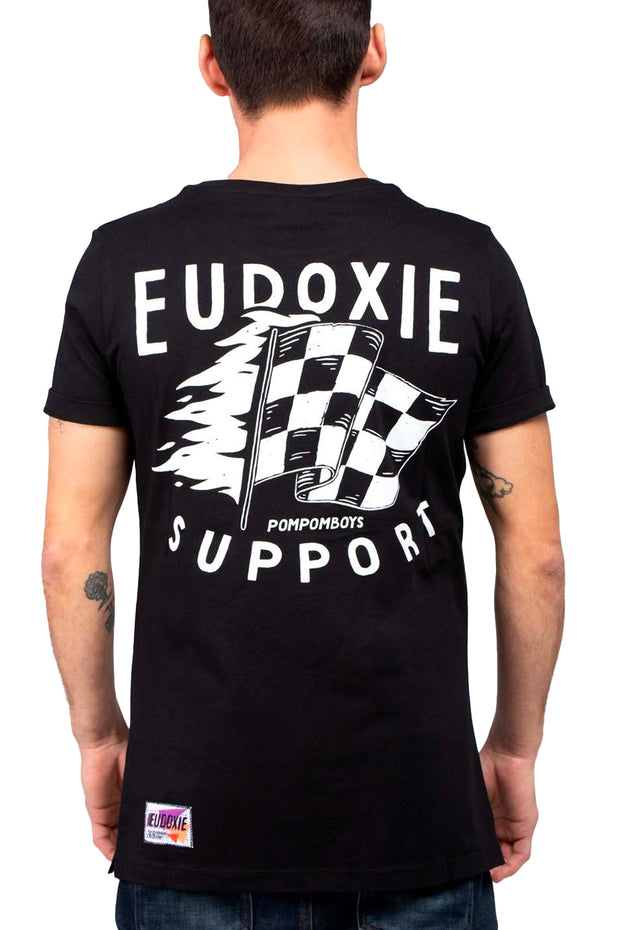 Eudoxie  Cheerleader Men's T-Shirt Moto Est Australia
