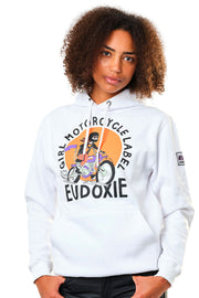 womens hoodie by eudoxie at moto est