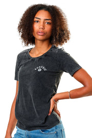 Eudoxie  Bonnie Vintage Black Women's T-Shirt1