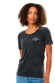 Eudoxie  Bonnie Vintage Black Women's T-Shirt 2