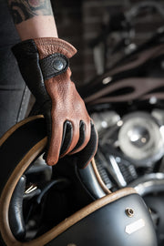 Gauchos Leather Motorcycle Gloves
