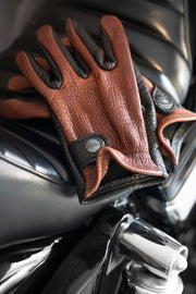 Grifter Company  Gauchos Leather Motorcycle Gloves Australia