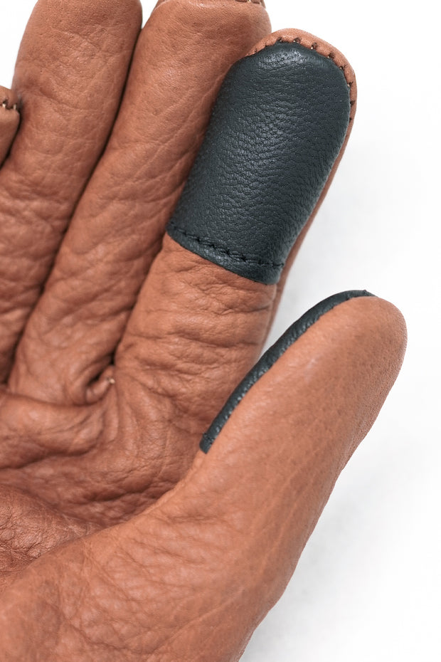 Buy the grifter scoundrel touchscreen motorcycle gloves brown online at Moto Est. Australia 3
