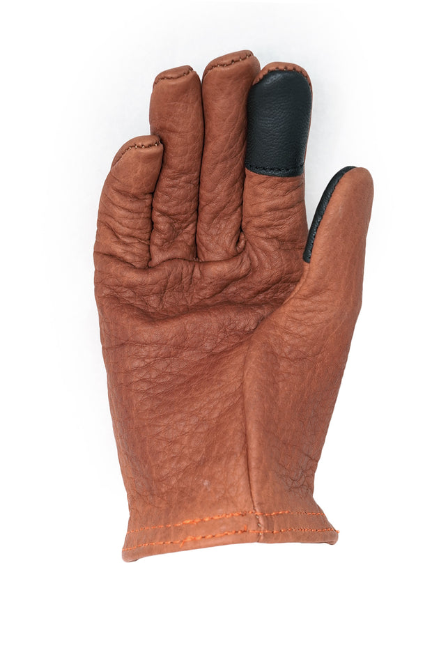 Buy the grifter scoundrel touchscreen motorcycle gloves brown online at Moto Est. Australia