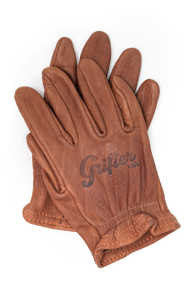 Buy the grifter scoundrel gloves brown online at Moto Est. Australia 3