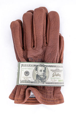 Scoundrel Wool Lined Motorcycle Gloves | Brown