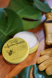 Australian leather seal and conditioner