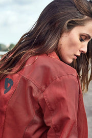 REV'IT!  Eclipse Women's Burgundy Textile Motorcycle Jacket melbourne australia