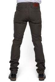 Tobacco Motorwear Company  Journeymen Men's Olive Canvas Motorcycle Pants online Australia