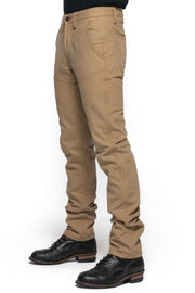 Tobacco Journeymen Men's Sand Canvas Motorcycle Pants