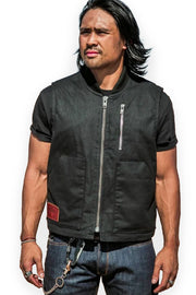 Wasteland Men's Black Vest