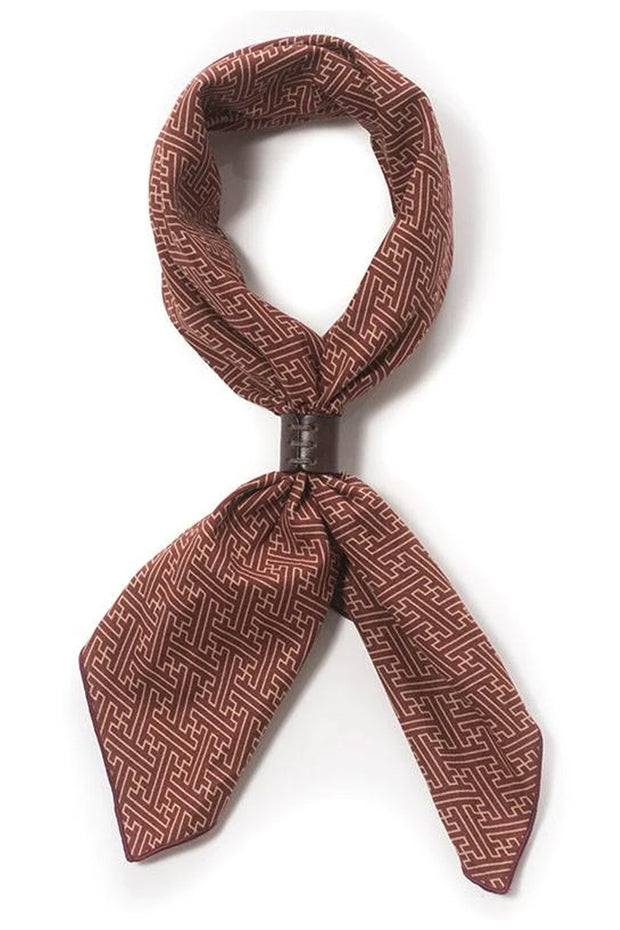 A Piece Of Chic Japanese Cotton Bandana in Burgundy Pattern online at Moto Est. Australia