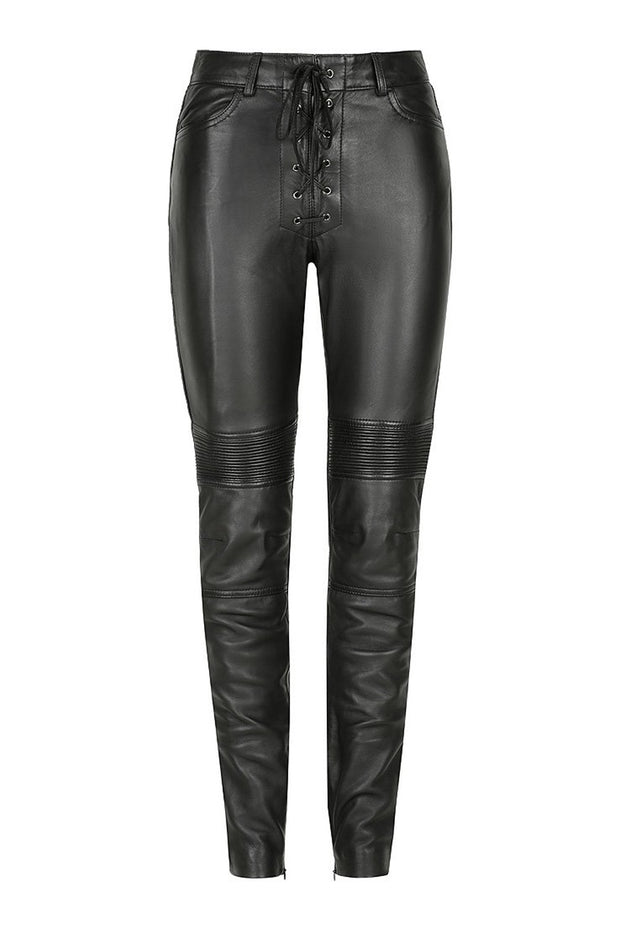 Black Arrow Label Belle Noir Women's Leather Motorcycle Pants online at Moto Est. Australia
