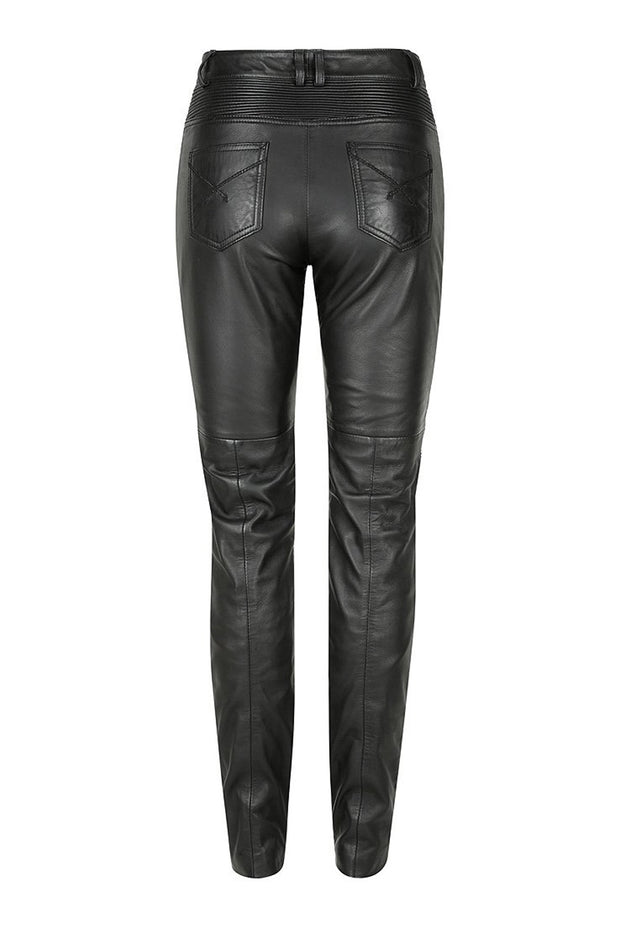 Buy the belle noir motorcycle pants black online at Moto Est. Australia
