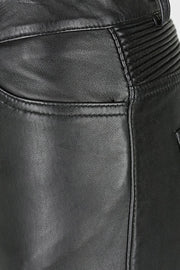 Buy the belle noir motorcycle pants black online at Moto Est. Australia 4