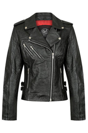 Black Arrow Label Gypsy Women's Leather Motorcycle Jacket online at Moto Est. Australia