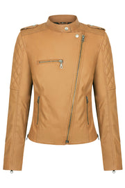 Black Arrow Label Liberty Wheels 2.0 Women's Leather Motorcycle Jacket online at Moto Est. Australia
