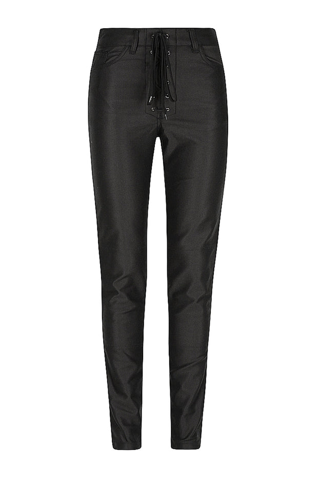 Black Arrow Label Lucille Women's Motorcycle Jeans in Black online at Moto Est. Australia
