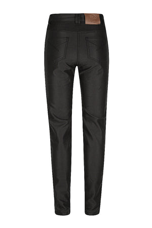 Lucille Women's Motorcycle Jeans | Black
