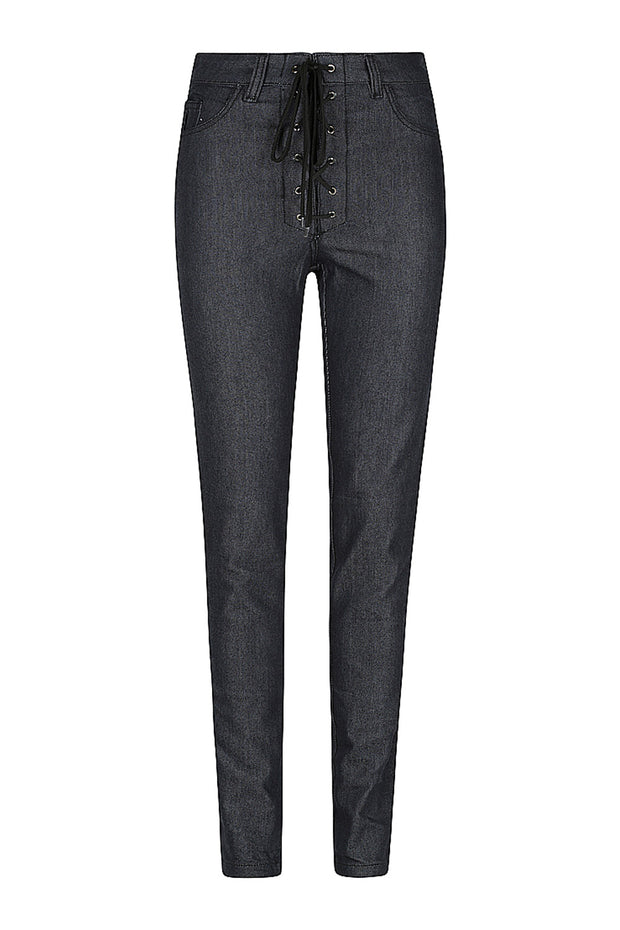 Black Arrow Label Lucille Women's Motorcycle Jeans in Indigo online at Moto Est. Australia