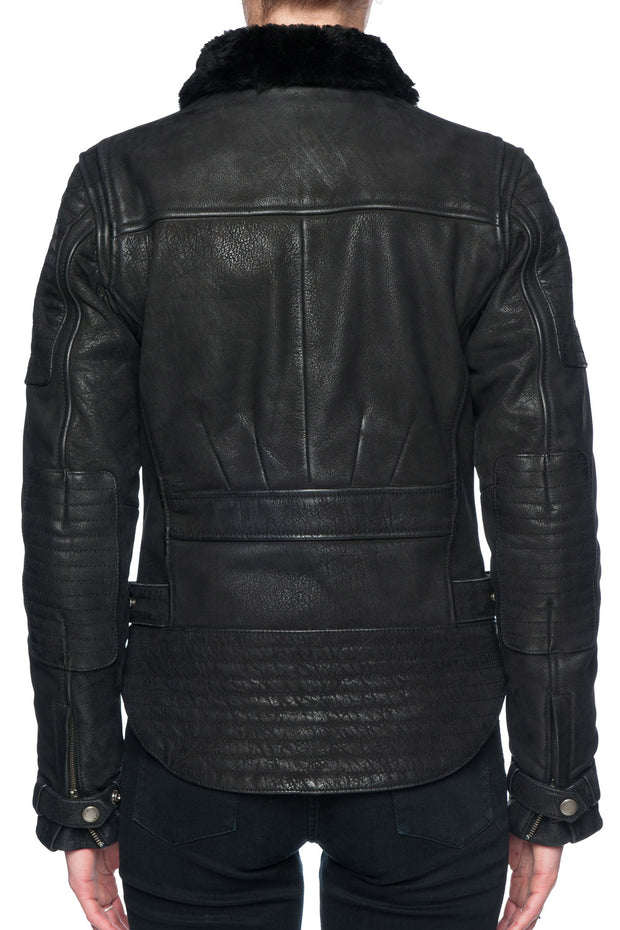 Buy the night hawk nubuck leather jacket online at Moto Est. Australia