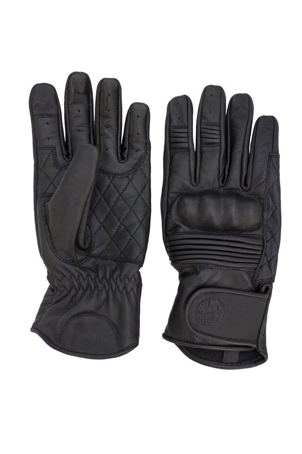 Black Arrow Label Queen Bee Women's Leather Motorcycle Gloves in Black online at Moto Est. Australia