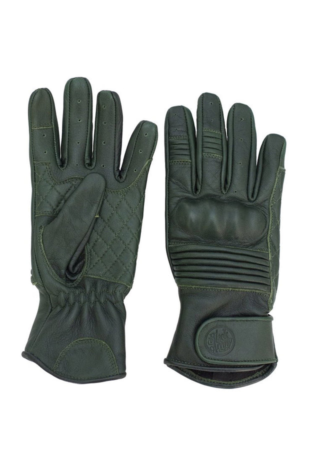 Buy the queen bee gloves forest green online at Moto Est. Australia 4