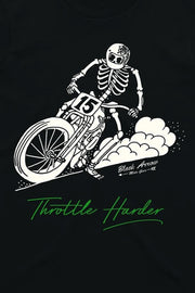 Buy the throttle harder t shirt online at Moto Est. Australia