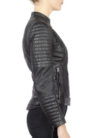 Buy the wild free leather jacket black online at Moto Est. Australia