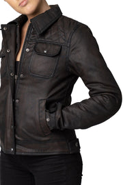 Buy the blackbird aspendale womens motorcycle jacket online at Moto Est. Australia 3