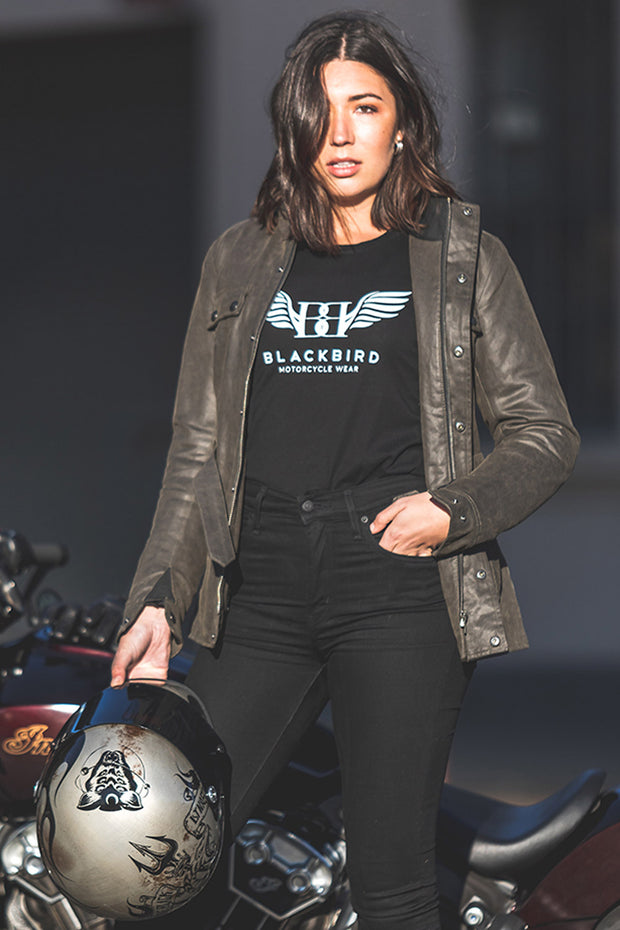Buy the blackbird catalina womens motorcycle jacket 1 online at Moto Est. Australia 4