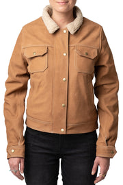 Blackbird Motorcycle Wear Dakota Women's Nubuck Leather Motorcycle Jacket online at Moto Est. Australia