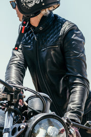Blackbird Motorcycle Wear Women's Isla Leather Motorcycle Jacket at Moto Est. 6