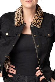 Buy the jungle jane denim jacket black online at Moto Est. Australia 4
