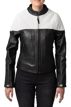 Montana Women's Leather Motorcycle Jacket