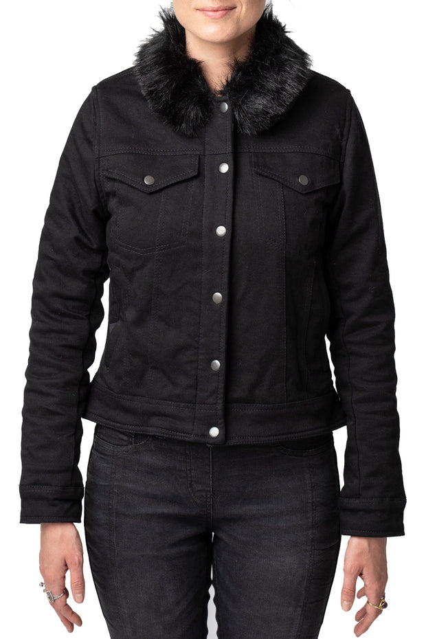 Blackbird Motorcycle Wear Moscow Women's Denim Motorcycle Jacket online at Moto Est. Australia