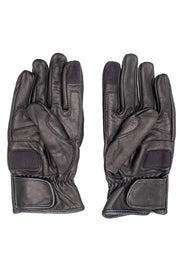 Buy the corazzo caldo leather motorcycle gloves online at Moto Est. Australia