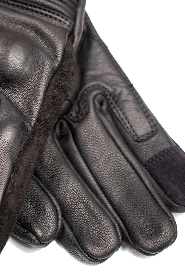 Buy the corazzo caldo leather motorcycle gloves online at Moto Est. Australia 4