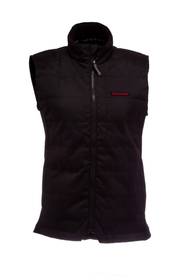 Corazzo Design Cordura Motorcycle Vest in Black online at Moto Est. Australia